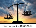 inequality and injustice... | Shutterstock . vector #573456016