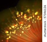 optical fibers | Shutterstock . vector #57346126