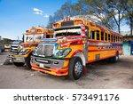 antigua guatemala  dec 25  2015 ... | Shutterstock . vector #573491176