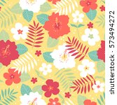 vector seamless colorful... | Shutterstock .eps vector #573494272