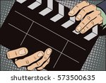 stock illustration. style of...   Shutterstock .eps vector #573500635