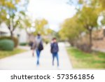 university blurred background | Shutterstock . vector #573561856