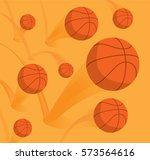 cartoon illustration of many... | Shutterstock .eps vector #573564616