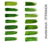 green labels. ecology vector...   Shutterstock .eps vector #573566626