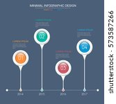 business  infographic  template ... | Shutterstock .eps vector #573587266