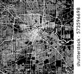 houston vector map  artprint.... | Shutterstock .eps vector #573596698