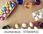 Shot Of Colorful Easter Eggs