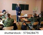 moscow  russia   september 1 ... | Shutterstock . vector #573628675