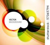abstract vector background. | Shutterstock .eps vector #57365794