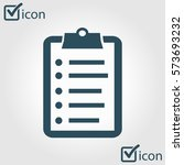 check list vector icon....