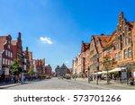 lueneburg    Shutterstock . vector #573701266
