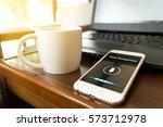 voice recognition   speech... | Shutterstock . vector #573712978