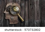 psychology or invent conception.... | Shutterstock . vector #573732802