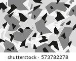 grey camouflage pattern | Shutterstock .eps vector #573782278