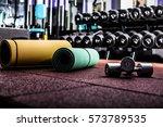 gym fitness room | Shutterstock . vector #573789535