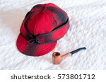 smoking pipe used for tobacco... | Shutterstock . vector #573801712