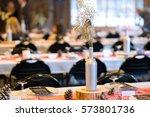 decorations for an indoor... | Shutterstock . vector #573801736