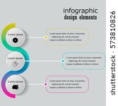 infographics step by step.... | Shutterstock .eps vector #573810826