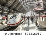 frankfurt  germany   may 16 ... | Shutterstock . vector #573816052