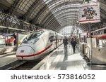 frankfurt  germany   may 16 ... | Shutterstock . vector #573816052
