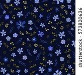seamless non directional flower ...   Shutterstock .eps vector #573820636