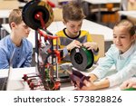education  children  technology ... | Shutterstock . vector #573828826