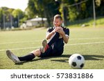 sport  football training ... | Shutterstock . vector #573831886