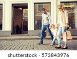 sale  consumerism and people... | Shutterstock . vector #573843976