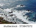 Wavy Rocky Shore