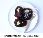 Trio Chocolate Ball Decorated...