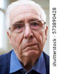 portrait of senior man... | Shutterstock . vector #573890428