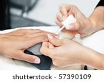 cosmetic beauty treatment for... | Shutterstock . vector #57390109