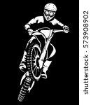 motorcycle races branding...   Shutterstock .eps vector #573908902