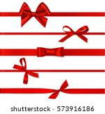 set of beautiful decorative... | Shutterstock .eps vector #573916186