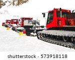 Snow Groomers For Ski Slopes...
