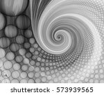 abstract fractal patterns and... | Shutterstock . vector #573939565