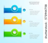 abstract infographic template... | Shutterstock .eps vector #573944758