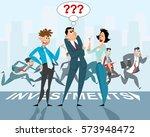 vector illustration of a three... | Shutterstock .eps vector #573948472