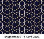 abstract geometric pattern with ... | Shutterstock .eps vector #573952828