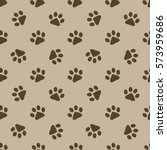 Pattern With Brown Animal...