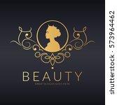 beauty logo | Shutterstock .eps vector #573964462