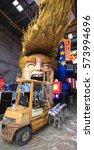 Small photo of Viareggio, February 2017: Carnival allegoric cart with funny Donald Trump caricature, on February 2017 in Viareggio, Tuscany, Italy