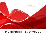 abstract red background. vector ...   Shutterstock .eps vector #573995836