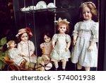 Old Porcelain Dolls At The Sho...