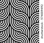 geometric pattern. vector... | Shutterstock .eps vector #574009492