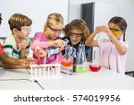 Kids Doing A Chemical...