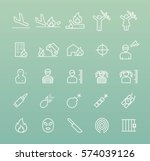 set of quality universal... | Shutterstock .eps vector #574039126