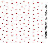 heart background | Shutterstock .eps vector #574059202