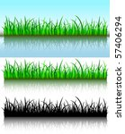 grass brushes | Shutterstock .eps vector #57406294