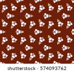 geometric shape abstract vector ... | Shutterstock .eps vector #574093762